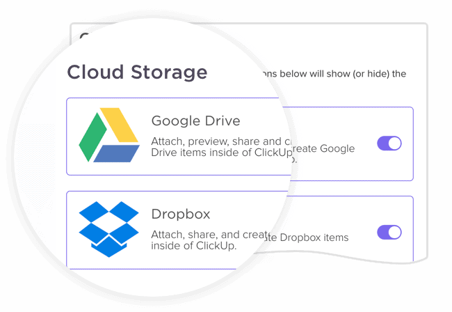 Cloud Storage Integrations